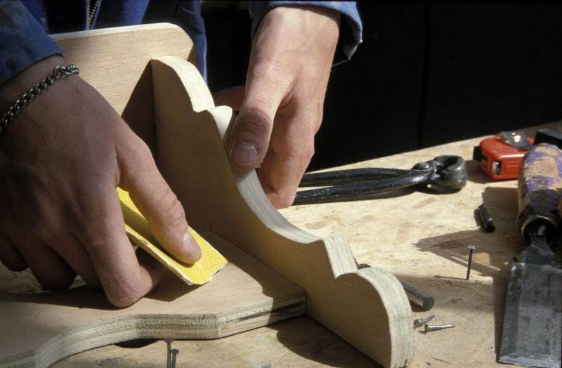 CAP Menuiserie, travail du bois