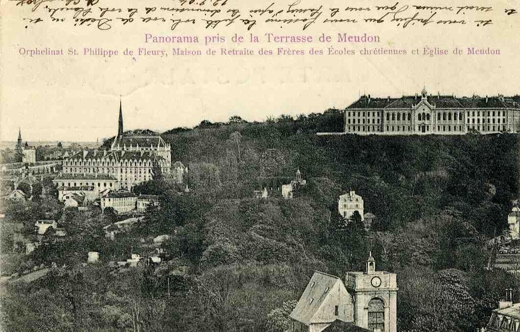 la terrasse de Meudon